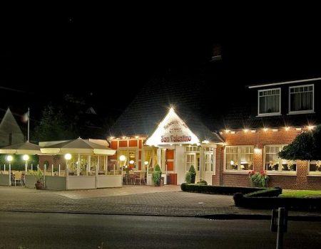Restaurante San Valentino bei Nacht